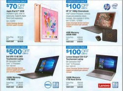 Costco Black Friday Ad Leaks With Killer Deals On Apple iPad, HP Chromebooks, And Dell XPS Laptops