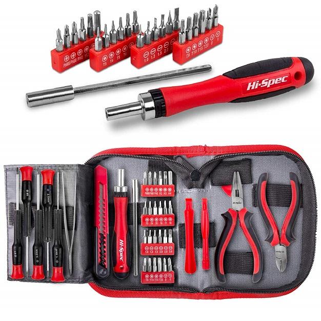 Hi Spec 60 Piece Electronics Tool Kit