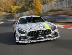 Mercedes Teases Track-Ready AMG GT R Pro, A 600-Plus HP Hell Chariot