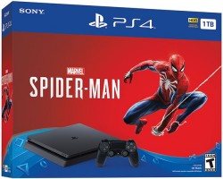 Where To Find Sony's $200 PS4 1TB Slim Spider-Man Black Friday Deal