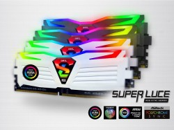 Geil Boosts Its Super Luce RGB DDR4 Lineup With Three New 16GB RAM Kits