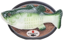 Amazon Alexa-Enabled Big Mouth Billy Bass Says Take Me To The River!