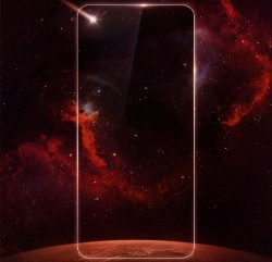 Huawei Teases Bezel-Free Display Flagship Phone With Bullet Hole Camera