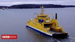 The ferry using Rolls-Royce technology that sails itself