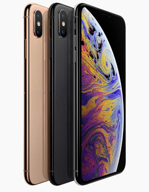 Apple iPhone Xs line up 09122018