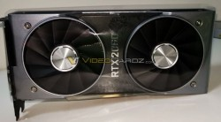 NVIDIA GeForce RTX 2060 Founders Edition Spied With Dual Fans And 8-Pin Connector