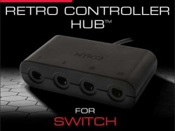 Nyko Releases Nintendo Switch 4-Port Retro Hub For GameCube Controllers