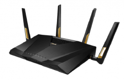 ASUS RT-AX88U 802.11ax Router Launches With Ultrafast 6,000Mbps Speeds