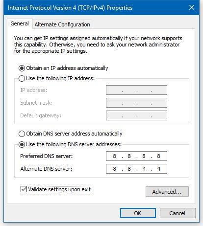 Google DNS Settings For Google Public DNS