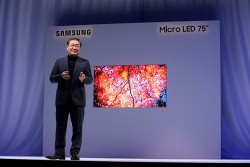 Samsung Unveils Dazzling 75-inch Micro LED 4K Modular 'Wall TV' At CES 2019
