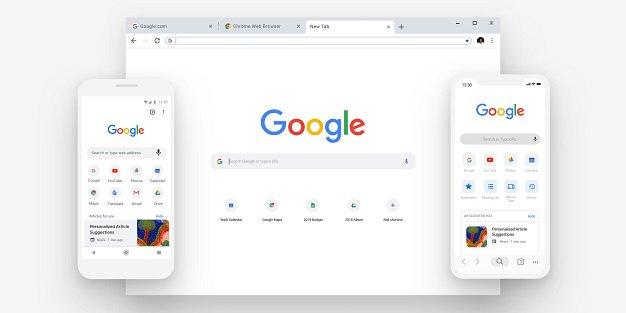 google chrome new all cover
