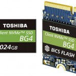 Toshiba Cranks Out BG4 NVMe SSDs With 96-Layer 3D NAND, Doubles Capacity To 1TB