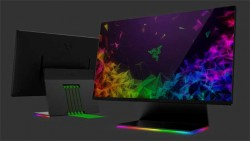 Razer Raptor 144Hz FreeSync WQHD Gaming Monitor Has Stunning 2.3mm Thin Bezels