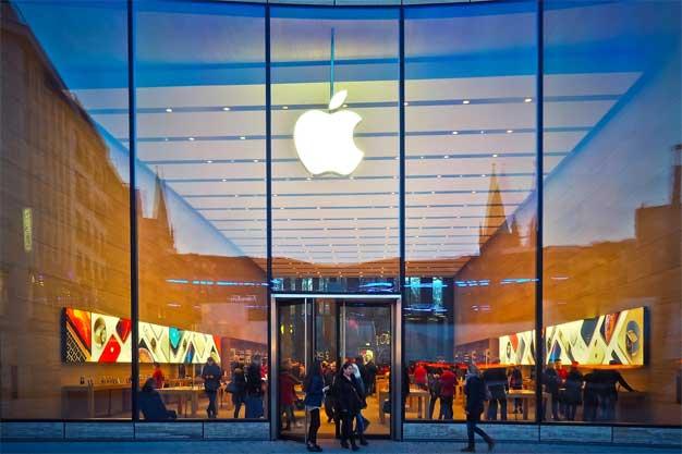 apple store glass