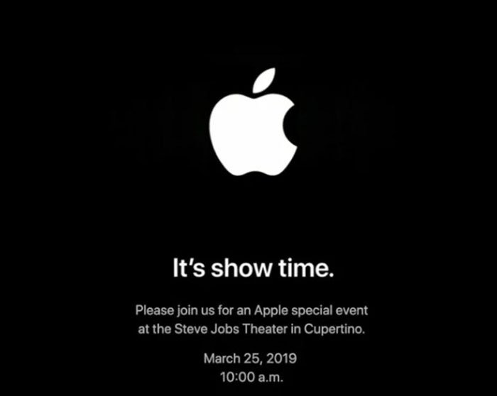 apple march 25 invitation streaming