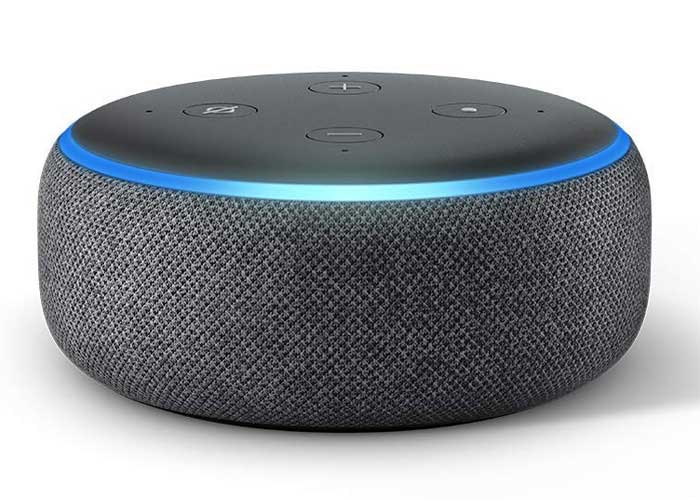 echo dot gray