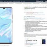Huawei P30 Pro Pricing And Release Date Accidentally Leaked By Amazon