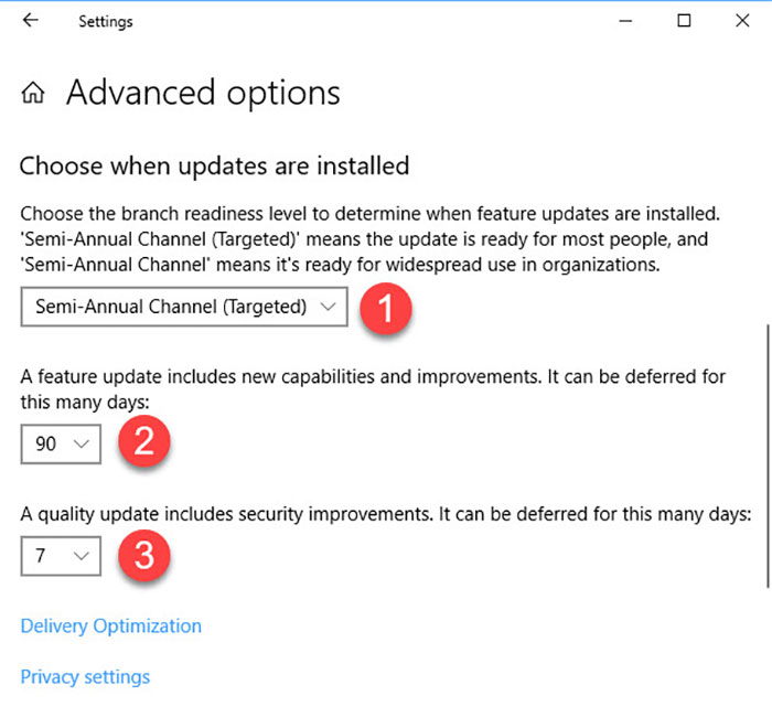 windows 10 april update delay