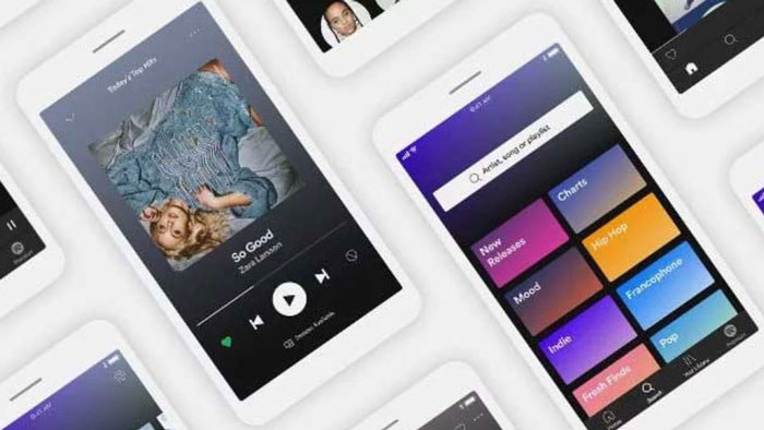 spotify app device
