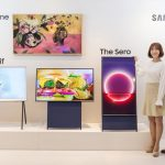 Samsung's Sero Is A 43-inch Rotating TV Aimed At Mobile-Obsessed Millennials