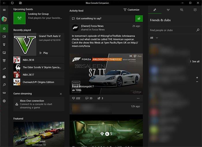 Microsoft Xbox Console Companion