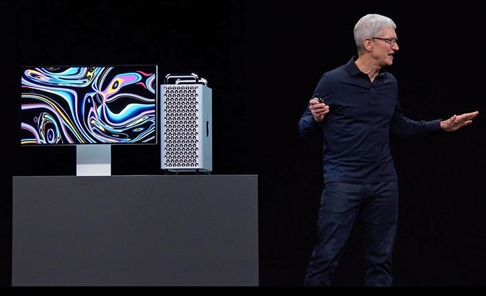 Tim Cook Apple Mac Pro alienates user base