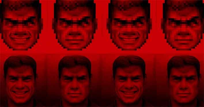 doom guy ai red