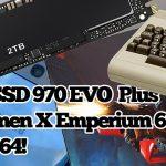 2.5 Geeks: 2TB Samsung SSD 970 EVO Plus, Galaxy S10e, HP Omen X Emperium 65, TheC64 & More!