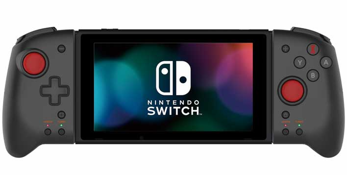 hori switch controll front