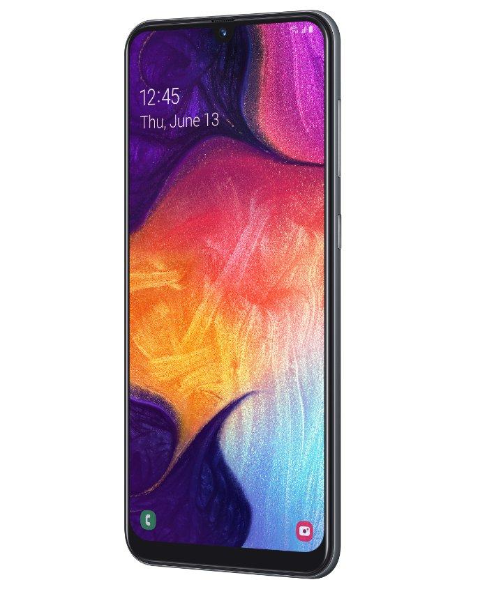 Samsung Galaxy A50 turn