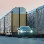 Ford's All-Electric F-150 Pickup Prototype Pulls 1 Million Pound Train In This Crazy Stunt