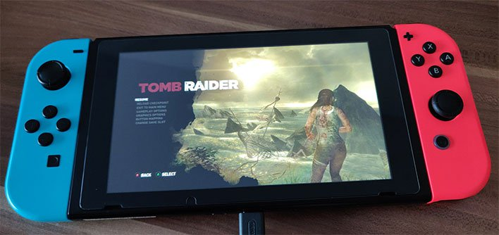 Nintendo Switch Tomb Raider