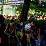 Hong Kong protesters turn to Uber and Pokemon