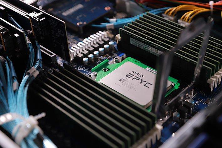 AMD EPYC Rome Gigabyte Server