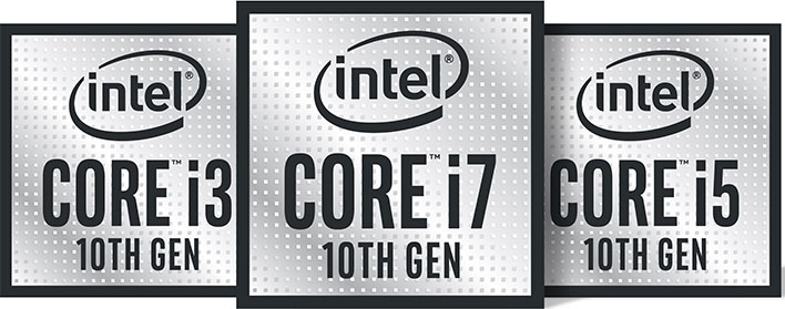 Intel 10th Gen Badges