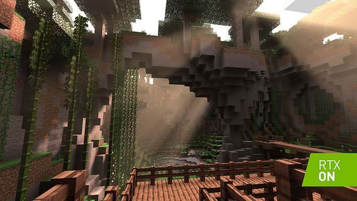 Minecraft Ray Tracing