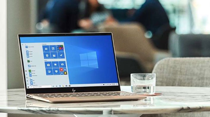 Windows laptop with driver security flaws