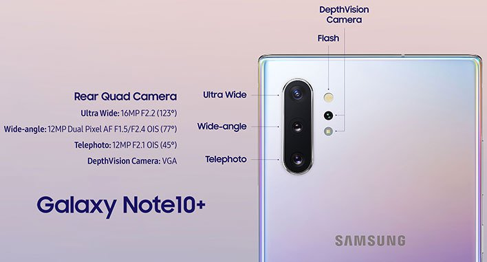 samsung galaxy note 10 plus camera detail