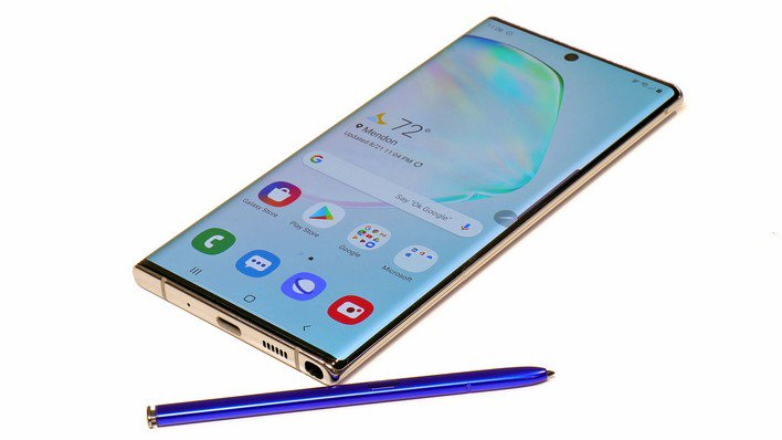 galaxy note 10 plus with pen