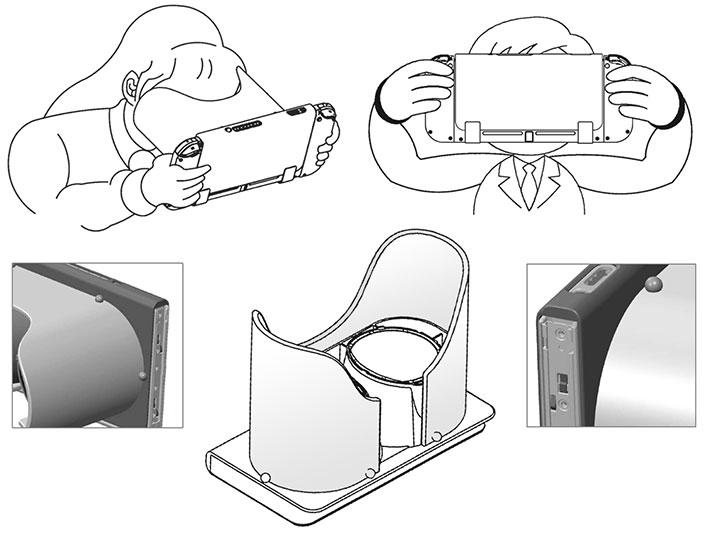 Nintendo Switch VR Headset Design