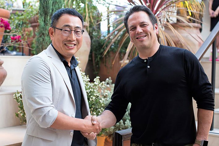 Ryu Young sang Phil Spencer