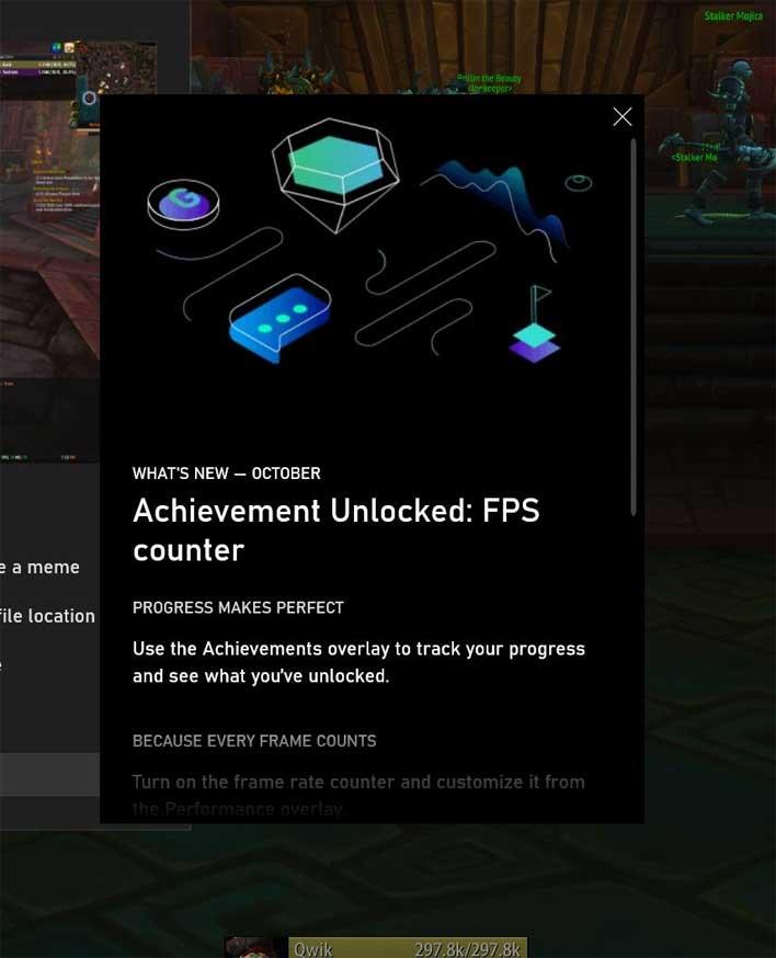 fps coutner achievement