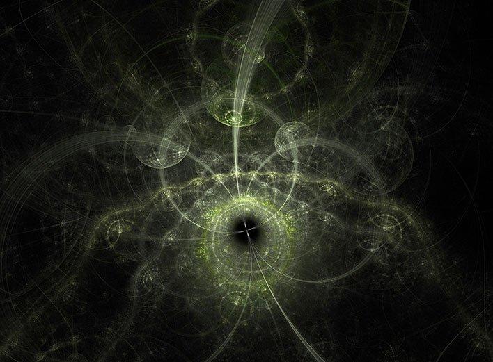 fractal abstract quantum