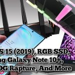 2.5 Geeks: Dell XPS 15, ASUS ROG Rapture WiFi 6, Galaxy Note 10+, Xtreme RGB SSDs & More!