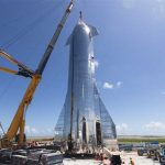 SpaceX's 10-Story-Tall Starship Takes Form As Elon Musk Plots Lunar Colonization