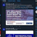 Teenagers arrested over hacks to Met Police website