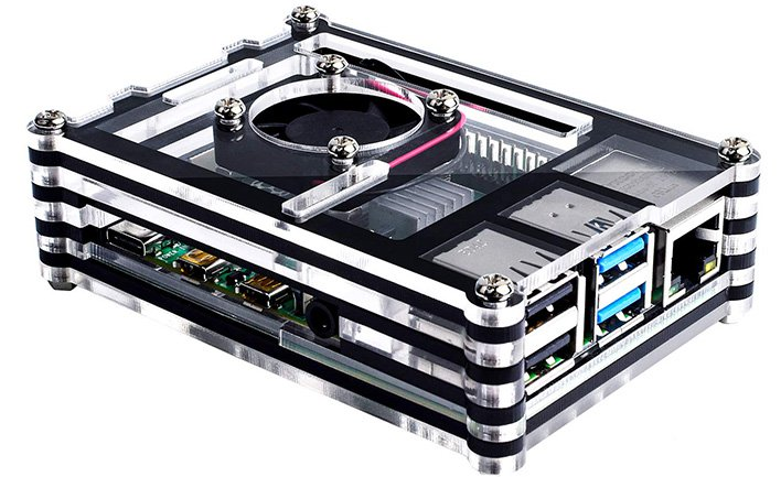 Smraza Raspberry Pi 4 Case With Cooling