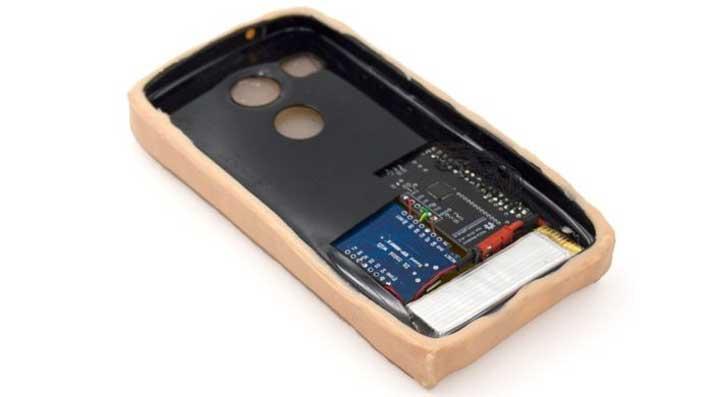artificial skin case inside
