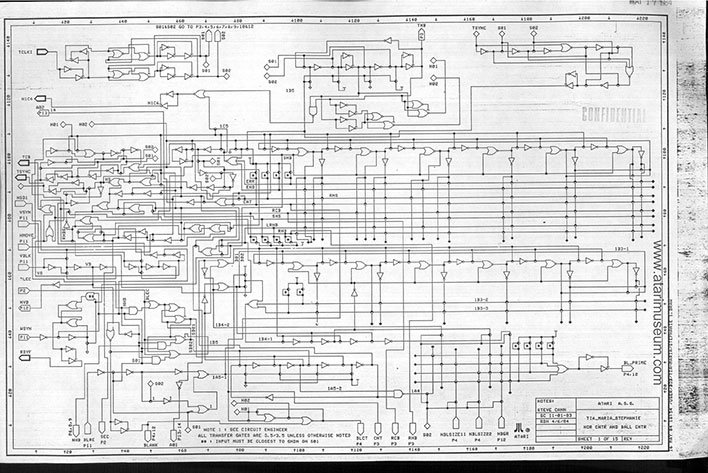 atari 7800 schematics