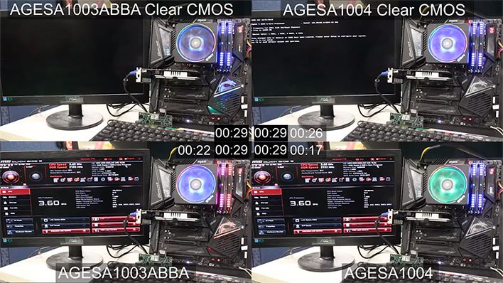 AGESA 1.0.0.4 Boot Comparison